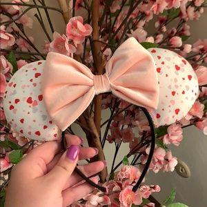 Heart and Velvet Mickey Ears